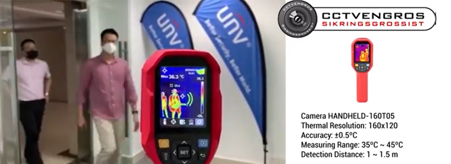 Cctv videoovervågning - Corona camera